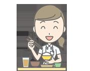 腎臓病の食事療法・イメージ